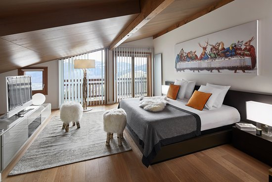 Chalet Alpen Valley Mont Blanc: Chambre Rooftop