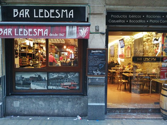 Bar Ledesma Bilbao Abando Restaurant Reviews Photos Phone Number Tripadvisor