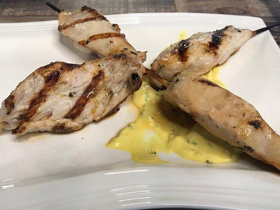 Chicken Suvlaki