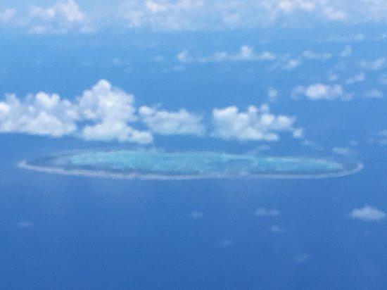 Rangiroa Tuamotu Archipelago, Polynésie française  from above