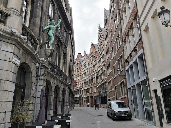 Antwerpen, Belgien: Suikerrui