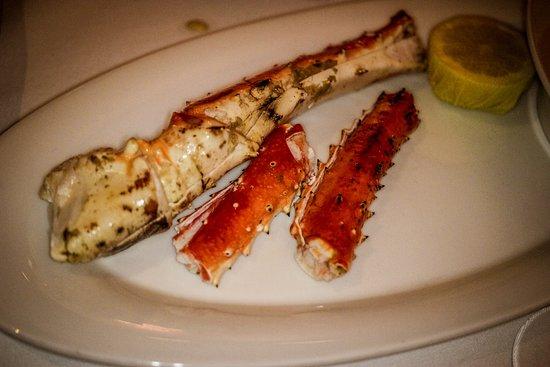 King crab legs 1/2 pound