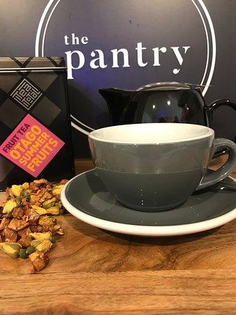 Leaf tea choices available @thepantrymetjven