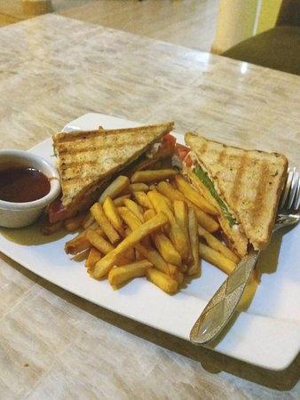 Club Sandwich. 🥪🍟👍