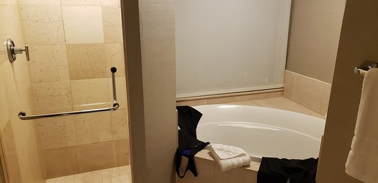 Shower and tub from Governor's Suite