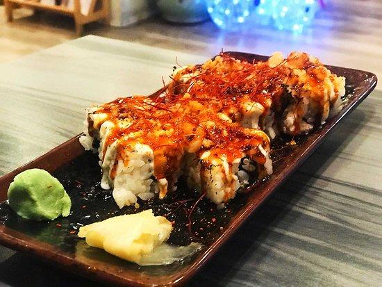 Japanese Lasagna Roll.