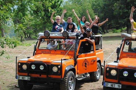 Superkombo - Jeep-safari og båttur