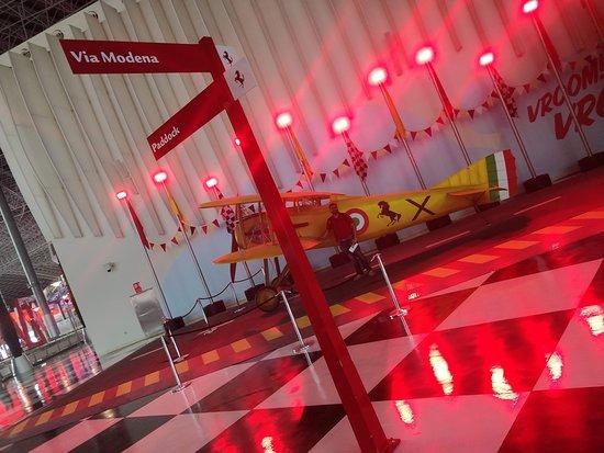 Ferrari World Abu Dhabi Admission Ticket: European engineering in planes