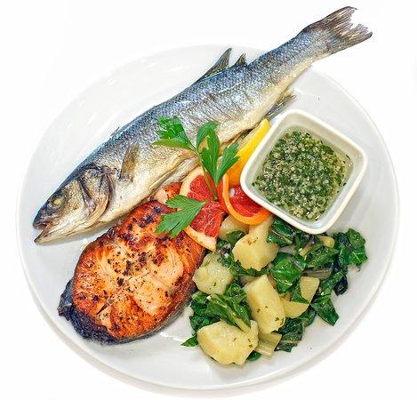 Mediterranean plate.