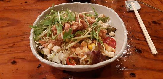 un'altra poke tipo cesar salad
