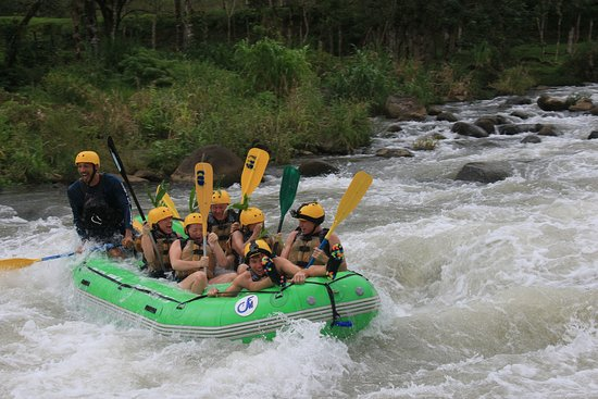 White Water Rafting Class III & IV: Costa Rica Descents- Balsa River, December 2019