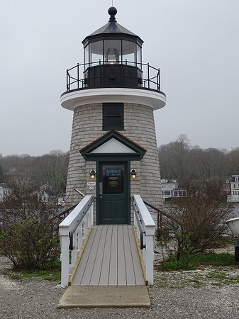 brandt point replica lighthouse