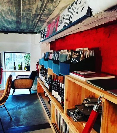 Our records and natural wine shop
