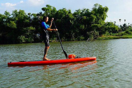 Stand Up Paddle Boarding en Sunset ...