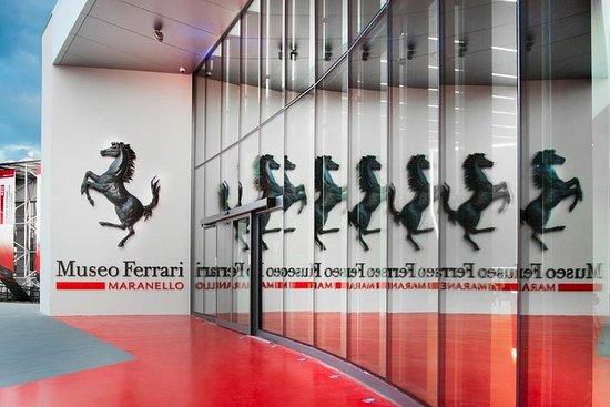 Billet d'entrée au musée Ferrari