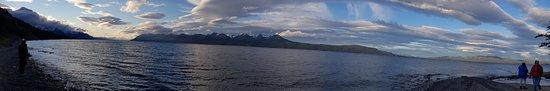 Vista do Lago Fagnano
