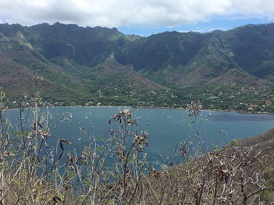 Taioha'e Bay Nuku Hiva, Polynésie française  from Tehaatiki Viewpoint