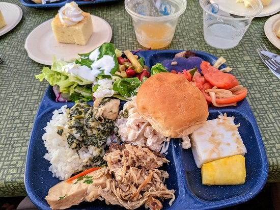 Admission to Royal Kona Luau: All the food was yummy and there was plenty available.