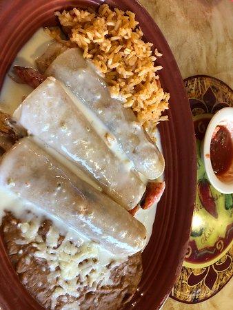 Rosemount, MN: Enchiladas Cozumel.