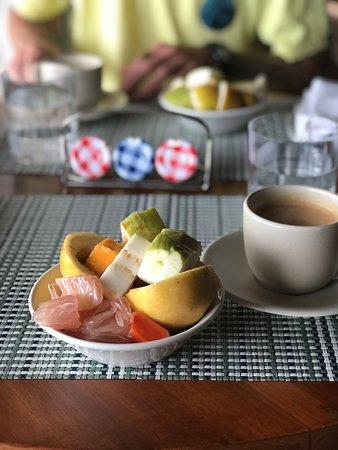 Breakfast Fruit every morning!