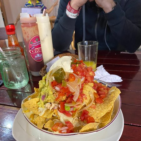 Delicious food, huge portions