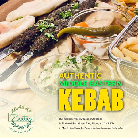 Beef Kofta Kebab  A mixture of ground beef and lamb, blended with onions, garlic, parsley and a few of our favourite Middle Eastern spices including, allspice, cardamom, sumac, and nutmeg. Flavour heaven!