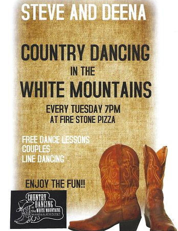 Concho, AZ: Free Dance Lessons every Tuesday Evening. 7pm.  Everyone Welcome. Food can be purchased.