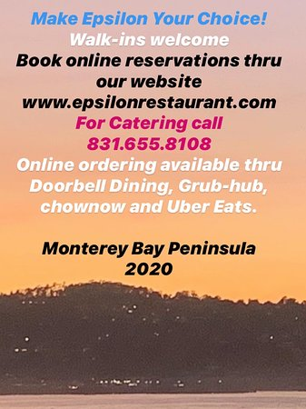 Right in the heart of Monterey Bay in downtown. See info. ⬅️
