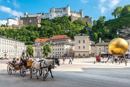 从维也纳到萨尔茨堡的全日私人旅行