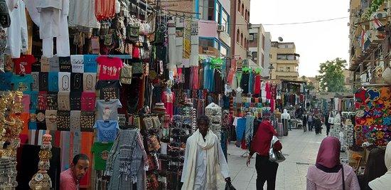 Walking through the souk