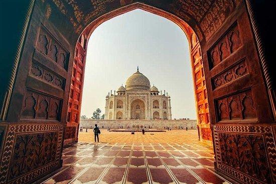 Visite du Taj Mahal en voiture