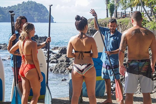 Paddle Boarding & Waterfall Tour di un'intera giornata