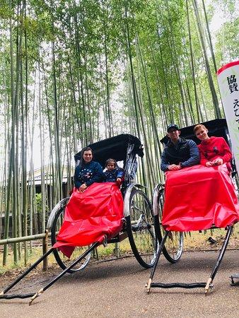 Kyoto Arashiyama Rickshaw Tour with Bamboo Forest Fotografie