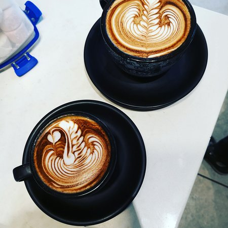 Dapto, Австралия: coffee arts