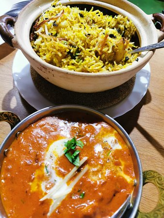 Claypot Biryani and Chicken Tikka Masala!