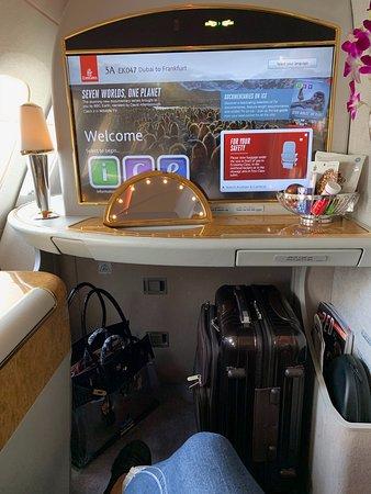Emirates: Seat