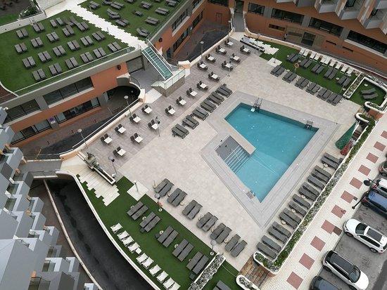 Melia Costa del Sol: The pool from Level Junior Suite #916
