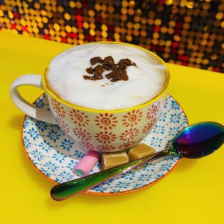 Coconut milk cappuccino