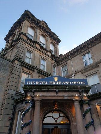 Royal Highland Hotel over Christmas