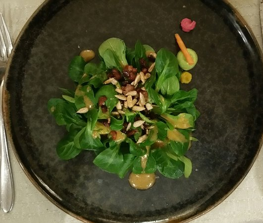 Feuerthalen, Schweiz: salade de rampon