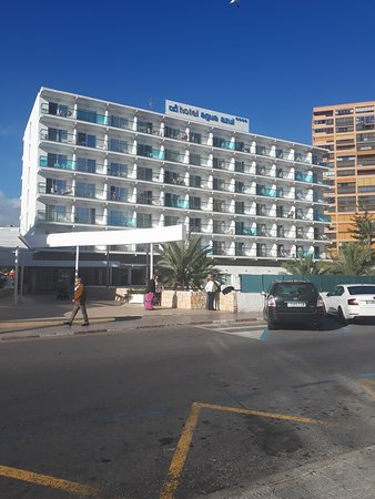 Photos taken of the hotel and Old town Hotel agua azul  benidorm  fantastic hotel