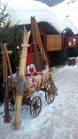 L'atmosfera del mercatino di Natale