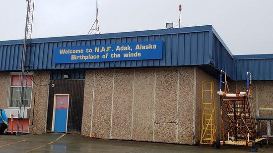 Adak Island, AK: Arrival in Adak - The birthplace of the winds