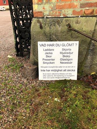 Södermanland, Suecia: Bra påminnelse, uppskattas av alla men främst av  glömska personer