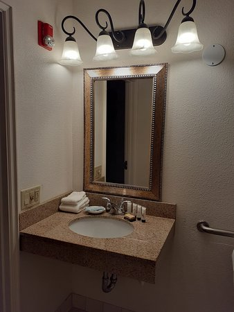 Sink inside bathroom