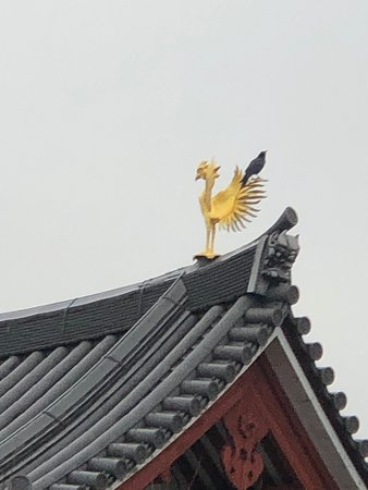 Phoenix on the top of the main hall.