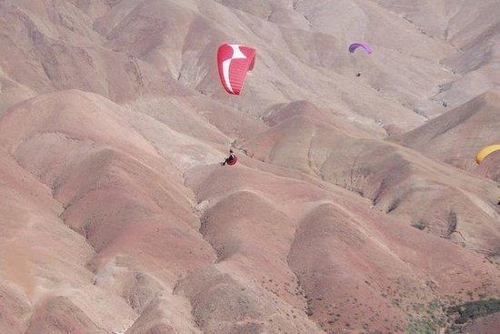 Marrakech parapente au désert d'Agafay