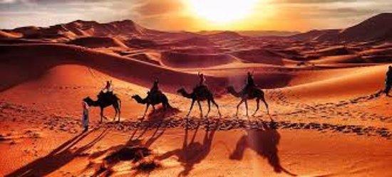 3 Day Desert Sahara Tour From Marrakech through the Atlas Mountains Private Tour: amazing look of sahara.