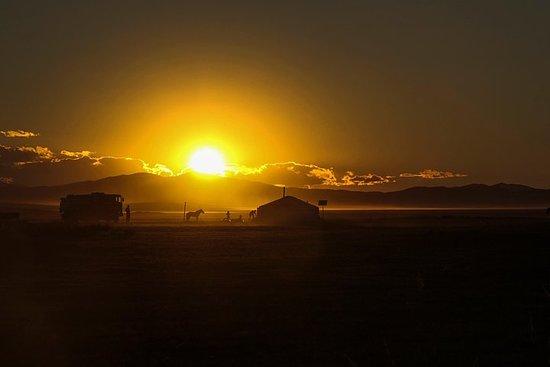 6 jours de couleur du désert de Gobi