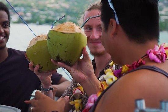 Descoberta da lagoa do Tahiti em...